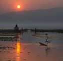 Paul Ravenscroft_Burmese Fisherman