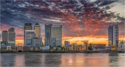 Ian Tulloch_Canary Wharf at Sunset