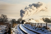 Paul Ravenscroft_Sun, steam and snow