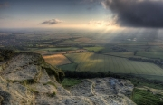 Keith-Truman_Elaine-on-Roseberry-Topping