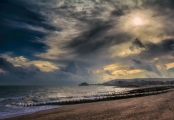 Mike James_The Sky over the pier