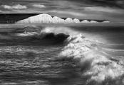 Peter North_Sea Spray off Seven Sisters